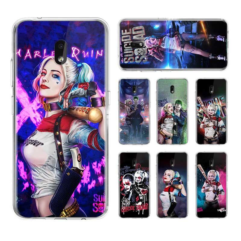 Funda de teléfono Harley Quinn Suicide Squad para Nokia 2,2 2,3 3,2 4,2 6,2 funda trasera para Nokia 7,2 1,3 5,3 8,3 5G fundas de silicona blanda Versión Global Lenovo S5 Pro Smartphone 6GB 128GB Snapdragon 636 Octa Core 20MP Quad cámaras 3500 mAh 6,2 pulgadas 4G LTE teléfonos