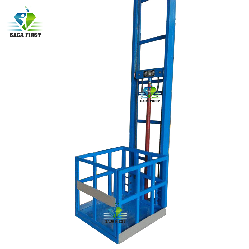 Customized Height And Capacity Hydraulic Cargo Material Lift