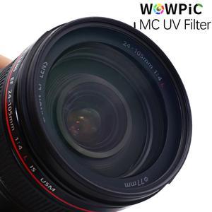 Image 5 - 95mm MC UV Filter WOWPIC Super Slim Green Muticoating 16 layers Lens Protector 95 mm Camera Filter for Canon Nikon DSLR Camera