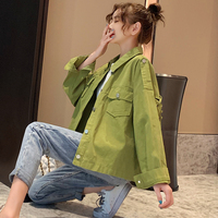 Han edition loose bf will fall on the new coat female with flavour restoring ancient ways students jacket