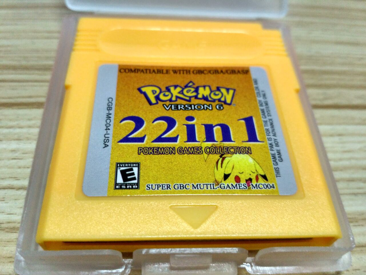 Pokemon Series NDSL GB GBC GBM GBA  22 In 1 Collect Video Game Cartridge Console Card Classic Colorful Version English Language