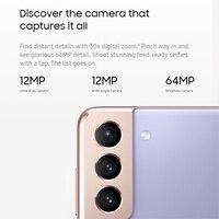 "Samsung Galaxy S21 G9910  5G Cellphones 6.2"" Snapdragon 888 Octa Core 64MP 4000mAh NFC 8GB RAM Wireless Charging Smartphones 2"