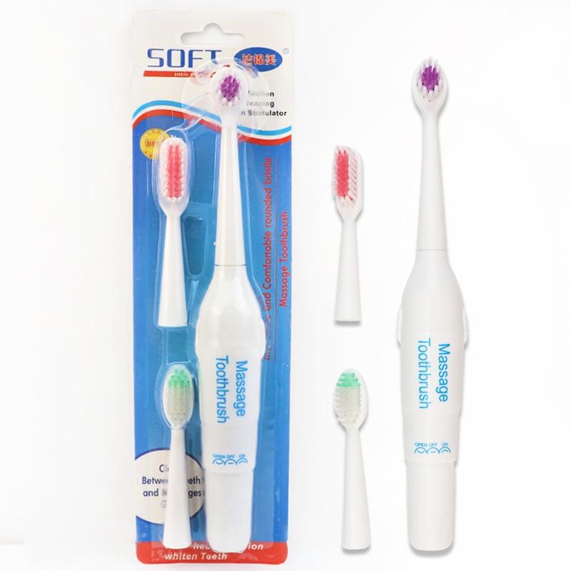 Elétrica escova de Dentes Ultra-sônica Rotativo Automático
