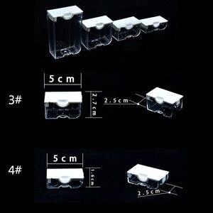 Image 5 - AZQSD Trapano Contenitori per Diamante Dipinto Mosaico Strumento di Accessori Gioielli Plaid Diamante Del Ricamo Trasparente Scatola di Immagazzinaggio