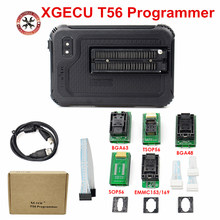 XGecu T56 программатор 56 Pin драйверы ISP поддержка 20000 + ICs для PIC/NAND Flash/EMMC TSOP48/TSOP56/BGA48/63/64/100/153/162/211