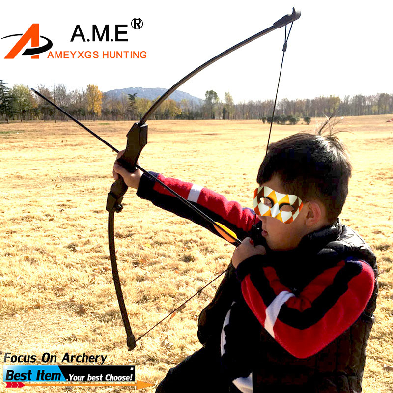 15LBS Recurve Bow Archery Hunting Toy Bow For Younth Children Training Outdoors Shooting Archery Bows With Box