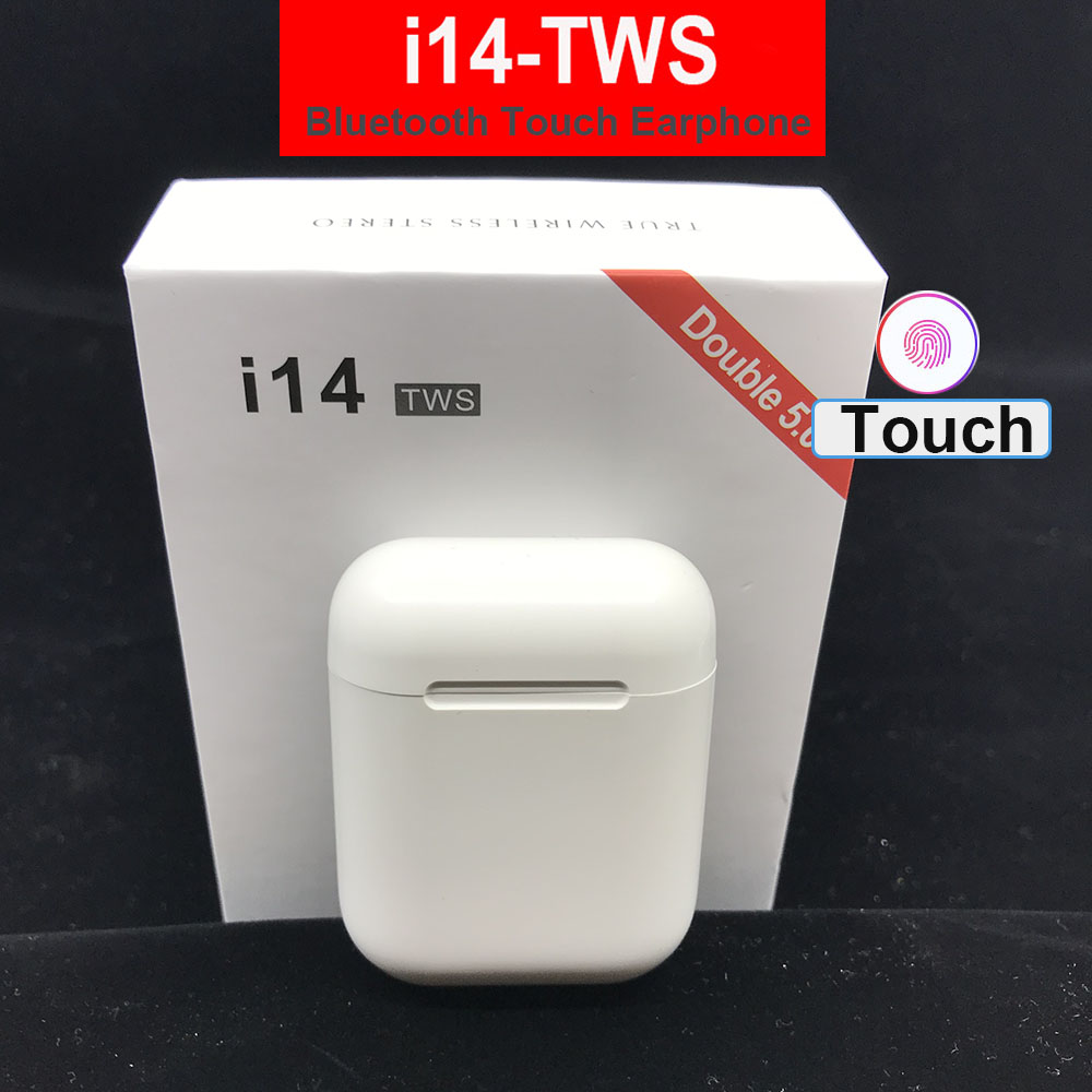 i14 i12 i9s <font><b>TWS</b></font> Bluetooth 5.0 Wireless Earphones Headsets Earbuds With Charge Box For IPhone Samsung Xiaomi Huawei LG image