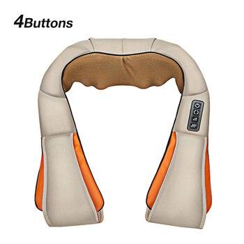 shiatsu neck massager with Infrared heater