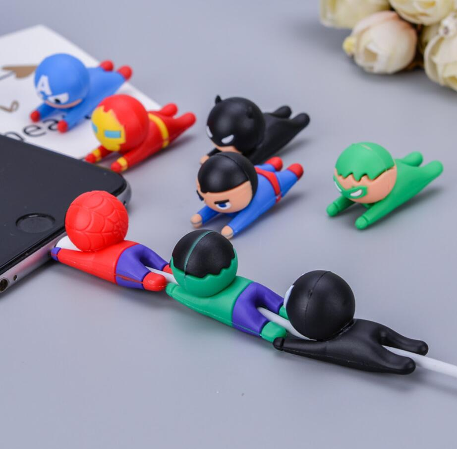 Cute Cable Bite Protector For Iphone Cable Bite Charger Protect Marvel Animals Protection Toys Charger Protection Animals Toy