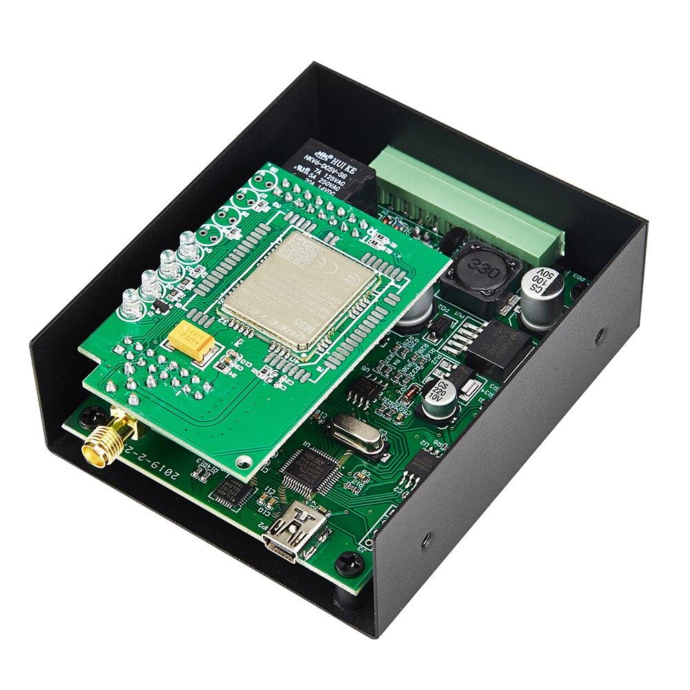 Commutateur à distance sans fil d'ouverture de porte de GPRS par l'intermédiaire du réseau de GSM pour des portes de contrôle d'accès de porte système de stationnement de voiture RTU5025 - 5