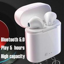 Oreillettes sans fil I7s TWS bluetooth, écouteurs intra-auriculaires stéréo, casque pour tous les téléphones intelligents, meilleure vente