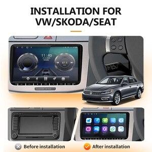 Android 10 Восьмиядерный 4 Гб + 64 ГБ для оригинального VW Volkswagen радио GPS автомобильный мультимедийный плеер 2DIN радио для VW Skoda Octavia навигация