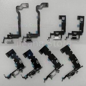 Image 1 - Dolna stacja dokująca ładowanie Flex dla iPhone Xs Max X XR ładowarka USB Port złącze dokujące Mic Flex Cable dla iPhone 7 8 Plus wymiana