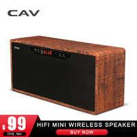 CAV AT50 HIFI Mini Lautsprecher Wireless Bluetooth Lautsprecher Hohe Qualität Stereo 3D Surround Sound-box System Eingebaute Mini Lautsprecher