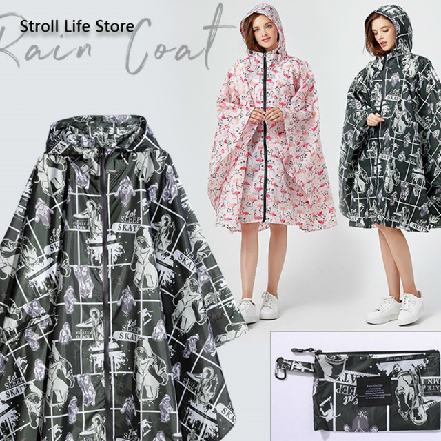 Long Raincoat Women Rain Poncho Hiking Cycling Large Size Clothes Korean Rain Coat Women Waterproof Suit Impermeable Gift Ideas 1