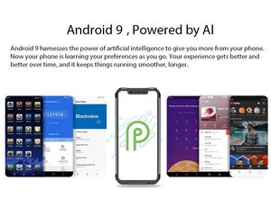 """Image 3 - Blackview BV9600 Pro IP68 étanche portable Helio P70 Octa core 6 go RAM 128 go ROM 6.21 """"AMOLED Android 9.0 robuste Smartphone 4G"""