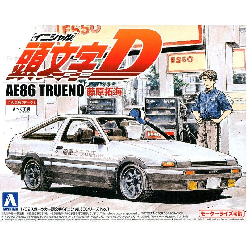 1/32 INITIAL D AE86 TRUENO 00896