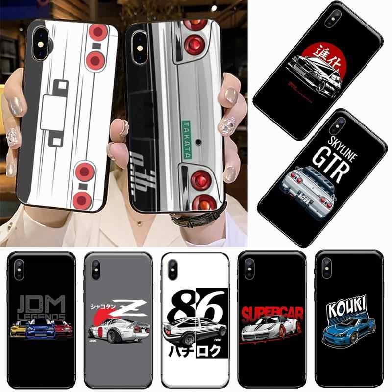 Coque de téléphone pour iphone, pour modèles 5, 5s, 5c, se, 6, 6s, 7, 8 plus, x, xs, xr, 11 pro max, AE86