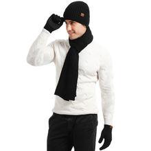 Новое поступление мужские и женские зимние теплые шапки шарфы