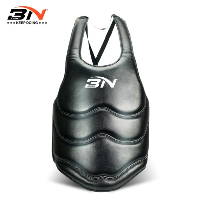 Защита для груди для взрослых BN, защита для живота, кикбоксинга, каратэ, поддержка тхэквондо, ММА, защита для груди