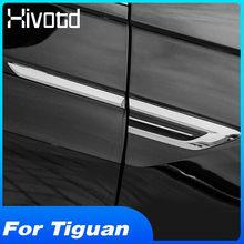 Hivotd Pour VW Tiguan 2019 2018 mk2 4motion 4motion 4X4 Voiture Côté original Aile Fender Porte Autocollant D'insigne D'emblème Garniture Accessoires