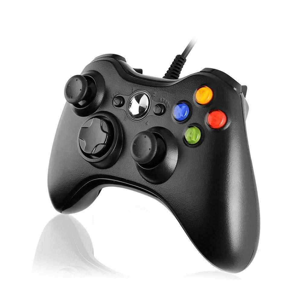 Xbox 360 USB 유선 게임 패드 지원 Win7/10 시스템 컨트롤러 조이스틱 XBOX360 슬림/지방/E 콘솔 게임 컨트롤러 조이패드
