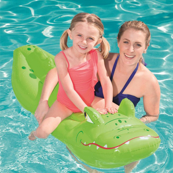 Animal shaped inflatable mount plastic children's water riding water toy inflatable floating raft for children Activity & Gear