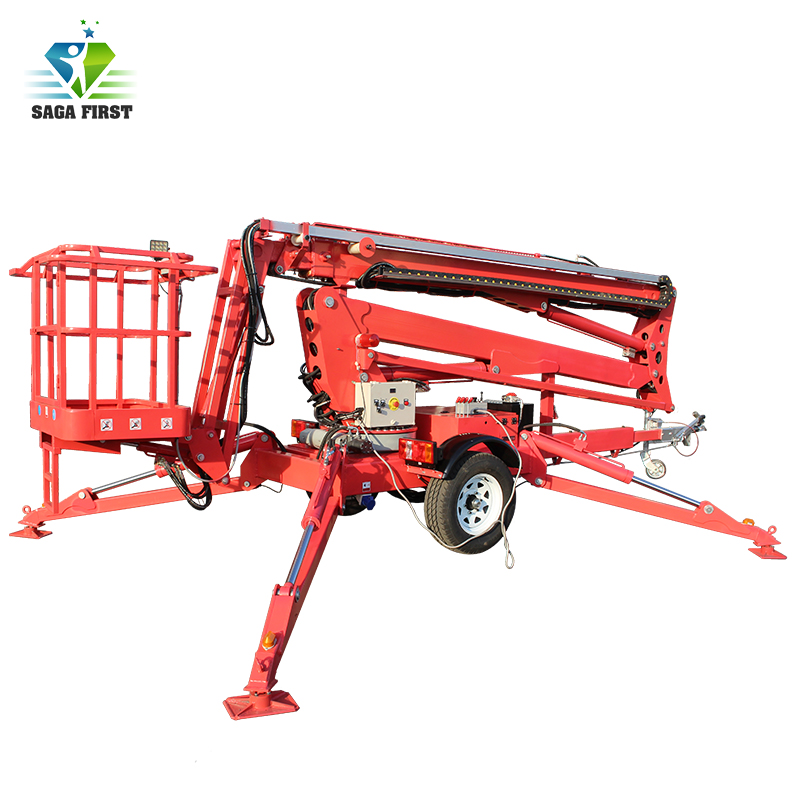 14m 16m Mobile Hydraulic Towable Bucket Lift Rentals