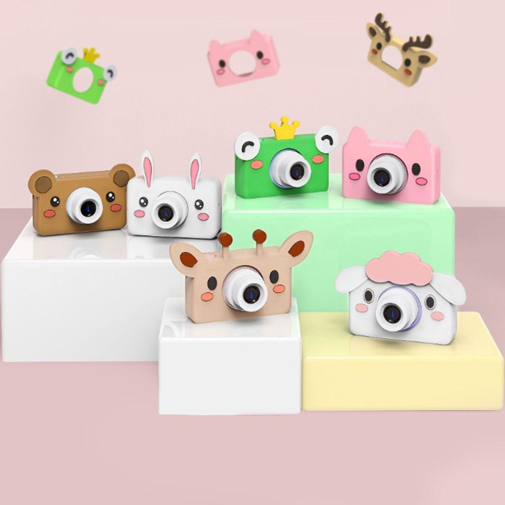 Children Camera Cute Cartoon Digital Small Camera Gift  Cartoon Cute Camera Toy Children Birthday Gift