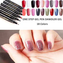 18 Colors Solid Color Nail Art Polish wholesale varnish hybrid Long Lasting Nail Art Decoration Polish Nail Polish Pen 5ML 0210
