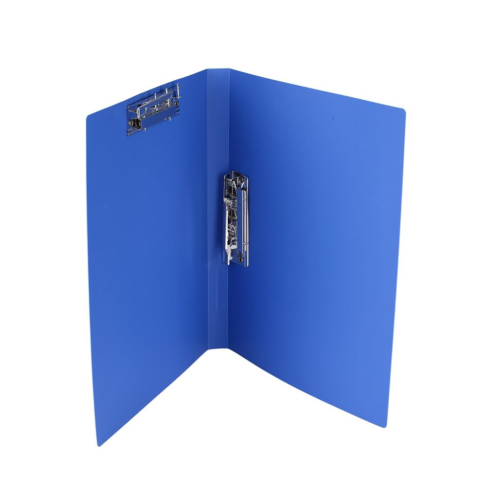 Office Folder Document A4 Blue Files Paper Holder Holder Storage Pocket Folder
