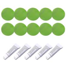 5 Set Opblaasbare Boot Reparatie Kit Pvc Materiaal Zelfklevende Patches Voor Waterbed Sofa(China)