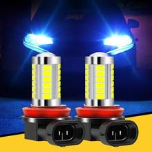 Ampoule antibrouillard Led H8 H11, accessoires automobiles, pour audi a4 b6 b7 b8 a3 8p 8v a6 c6 vw passat b5 b6 b7 golf 4 5 6 7 1 pièces
