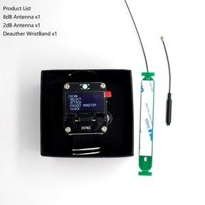 Image 3 - DSTIKE WiFi Deauther nadgarstek V2 poręczny zegarek Esp ESP8266 płytka rozwojowa inteligentny zegarek DevKit NodeMCU