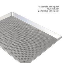 Acier inoxydable rectangulaire Grill poisson plaque de cuisson plaque Pan cuisine fournitures gâteau plateau pain plateau Pad pâtisserie cuisson moule outils