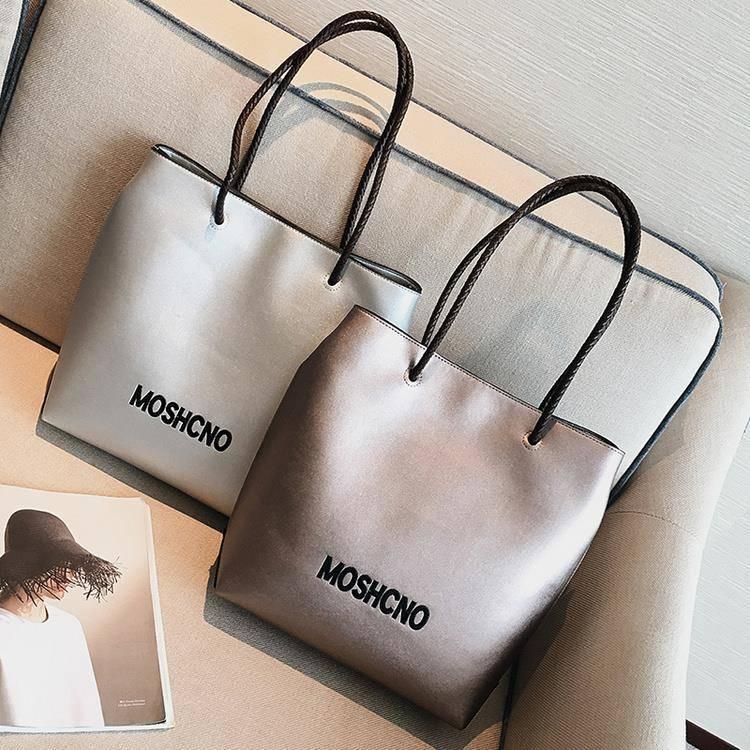 Tote Bag Female Student Korean Version Of Large Capacity Simple Handbag