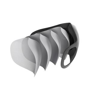 Image 4 - Xiaomi SmartMi PM2.5 Haze Mask Purely Anti haze Face Mask Adjustable Ear Hanging Fashion 3D Design Light Breathing Mask