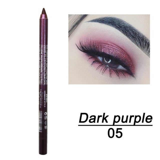 Profissional brilhante olho forro caneta cosméticos para as mulheres prata rosa cor de ouro moda glitter delineador maquiagem ferramentas beleza 1 pcsa