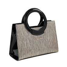 2019 new designer high quality luxury patent leather women hand bag top