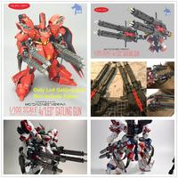 ZL model LED GATLING GUNS Expansion Backpack for Bandai MG 1/100 MSN 04 Sazabi Gundam DZ001