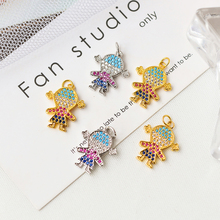 Minghuangnew DIY jewelry found little girl necklace pendant / earring hook accessories fashion vitality popular creation