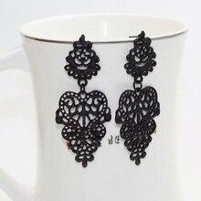 Popular Fashion Leaf Earrings Original Hollow Design Bohemian Versatile Pendant Party Ladies Bridal Jewelry