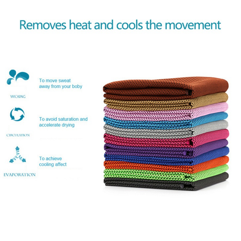 New Swimming Sports Towel Ice Cold Enduring Running Jogging Gym Chilly Pad Instant Cooling Outdoor Sports Towel