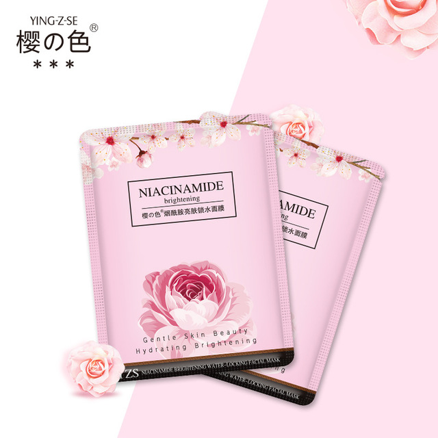 Niacinamide Mask Patch Pack Moisturizing Shrink Pores Gentle skin care Skin Friendly Cosmetics korean beauty Wrapped Mask