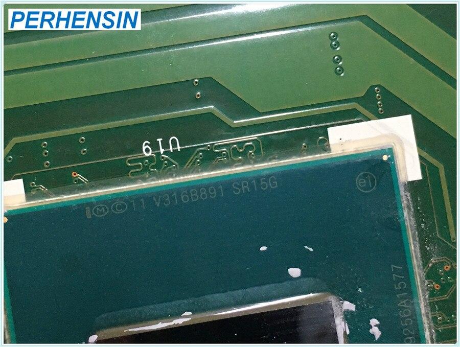 MS-16GH1 para MSI GE60 GP60 placa base de computadora portátil i5-4200 SR15G N15S-GT-B-A2 840M MS-16GH Ver 1,0-100% perfectamente