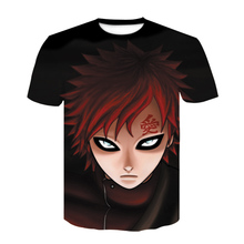 2020 Summer New Japan Anime Naruto Uchiha Sasuke Itachi 3D T Shirt Male O-Neck Cartoon Tee Tops Men/Women Cool Harajuku Clothes