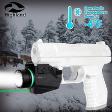 Tactical Hunting Integrated Combo Red Green Laser Sight LED Flashlight for Weaver Picatinny Rail Mount