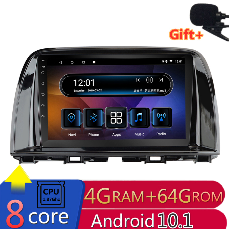 2 din 8 core <font><b>android</b></font> 10 car <font><b>radio</b></font> auto stereo for <font><b>Mazda</b></font> CX5 <font><b>CX</b></font>-<font><b>5</b></font> <font><b>CX</b></font> <font><b>5</b></font> 2012 2013 2014 2015 navigation GPS DVD Multimedia Player image