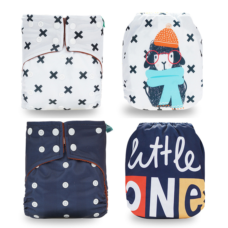 Newborn Diapers Waterproof Supplies Maternity Remove Smell Baby Nappy Diaper Bag Letter Baby Leak Proof Clean Care Cloth Bag 1pc