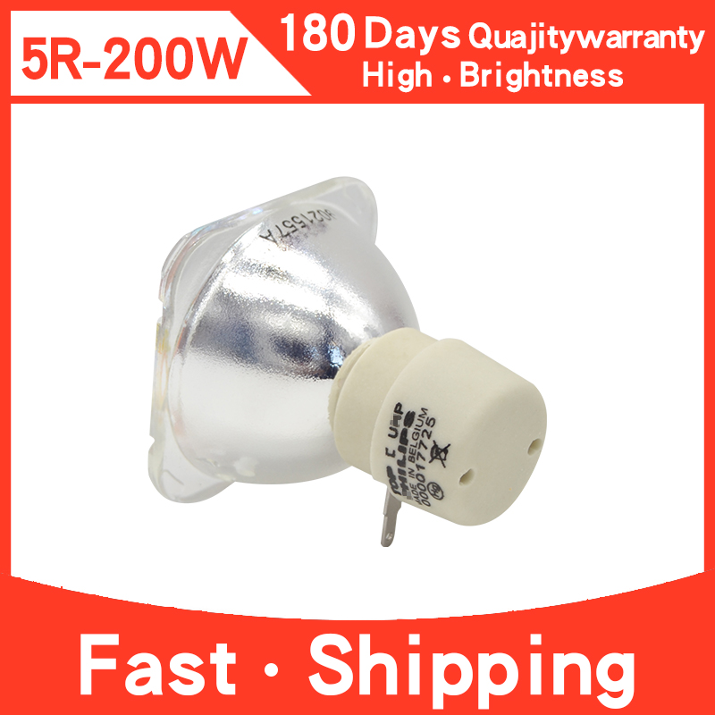 Beam 5R Lamp Platinum Sharpy 5R Bulb Stage Studio Lamp Replacement For Beam 200 Light Moving Head Single Ended Lamp